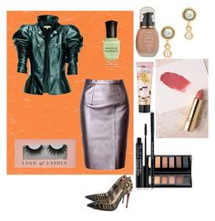 """Untitled #1090"" by yasm-ina ❤ liked on Polyvore featuring WithChic, Leka, Christian Louboutin, Tai Rittichai, Benefit, Sisley, Rodial, Axiology and Deborah Lippmann"