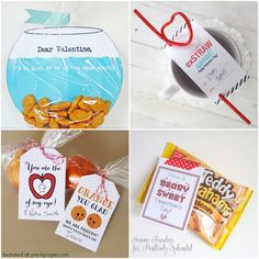 Non Candy Valentines for Kids - 25 of my favorite Non-Candy Valentines for Kids ~Pre-K Pages
