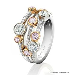 Pink Waterfall Boodles ring www.boodles.com