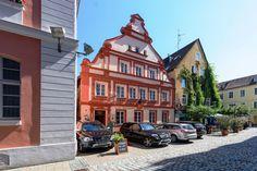 Ansbach Neobarocke Fassade Schwarzer Bock