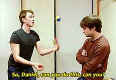 That time Daniel showed us that his friend Jake keeps him grounded. | 25 Times The Internet Fell In Love With Daniel Radcliffe