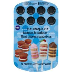 Wilton 24-Cavity Mini Whoopie Pie Pan