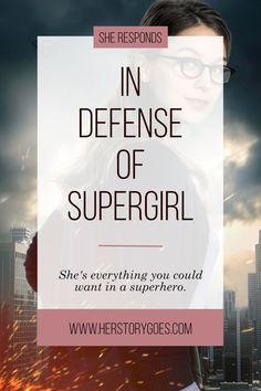 In Defense of Supergirl — Her Story Goes. // Kara Danvers (Melissa Benoist) is killing it as Supergirl in CBS's action-adventure series. Click to read all of the reasons why she's my new favorite superhero.