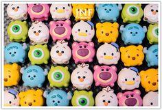 Tsum Tsum Macaron!!! how cute ❤️