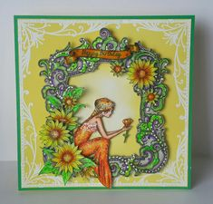 Colouring Pencils, Lavinia Stamps, Fantasy Mermaids, Unicorns, Ea, Colored Pencils, Fairies, Dragons, Frame