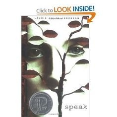 Banned book  Speak  by Laurie Halse Anderson compelling novel for all teens  High School db8a57b2a