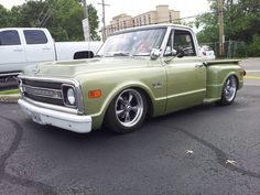This is a nice clean truck. Chevy C-10