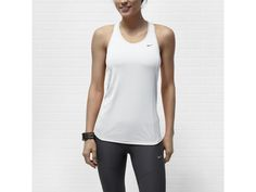 Nike Racer Women's Tank Top - $28  any color. Mine are snagged and smelly.