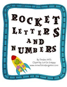 Rocket Letters and Numbers: Handwriting Fluency FREE