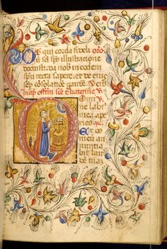 Zanino di Pietro - Leaf from Book of Hours - Walters W32291R - Open Obverse.jpg