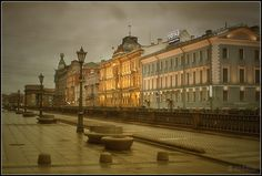 Cognac mood in morning St-Petersburg in early spring. by Aleksei Aleshin on 500px