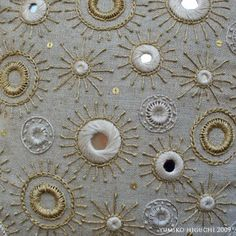 Shisha Mirror Embroidery, my new love by Misako Mimoko                                                                                                                                                                                 Más