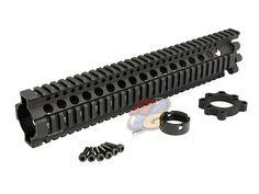 MadBull Daniel Defence Licensed 12 Inch AR15 Lite Rail [MB-RIS-DD12-L-AG] - US$118.00 : Airsoft Global!, Gun