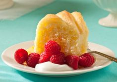 Savarin - A light and delicate style of yeast cake that's bursting with sparkling, fresh orange flavor.