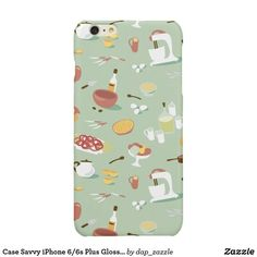 Case Savvy iPhone Plus Glossy Finish Case Food Iphone Cases, Iphone Case Covers, Iphone 6, All Design, Cover Design, 6s Plus, Illustrators, Create Your Own, Creative