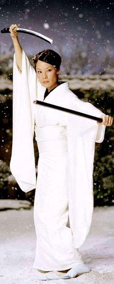 O-Ren Ishii, a.k.a. Cottonmouth (portrayed by Lucy Liu)