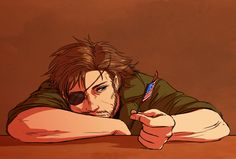 Naked Snake. Big Boss. Metal Gear Solid 3: Snake Eater.