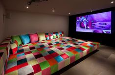 huge-bed-media-room