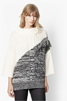 French Connection Fringe Jumper - $168