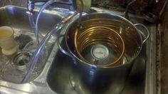 DIY Cost-Effective Immersion Wort Chiller - The following steps are how I made a immersion chiller for cooling my brew fast for pitching yeast.