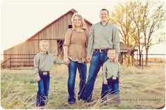 barn... have to do this next family pics