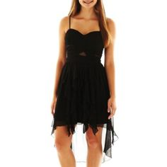 My Michelle High-Low Corkscrew Dress  found at @JCPenney