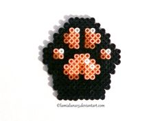 [Beads] Cat Paw by LamiaLuna13.deviantart.com on @DeviantArt