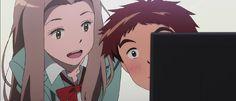 Izzy (Koushiro) and Mimi. The hype is real. Digimon Adventure Tri, Braveheart, Best Tv, Best Games, Pokemon, Anime, Animation, Cartoon, Manga