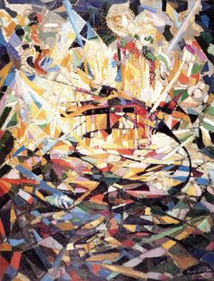 The Athenaeum - Battle of Lights, Coney Island (Joseph Stella - )