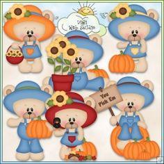 Marshmallow & Honey Love Fall 2 - NE Kristi W. Des. Clip Art