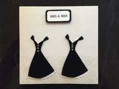 Mrs & Mrs Wedding Card available to purchase online via mismolife.com.au or find on etsy