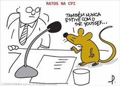 Ratos na CPI...
