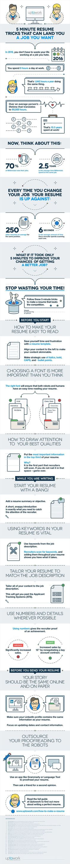 What Skills to Put on a Resume? #Infographic Infographic, Resume - 5 resume tips
