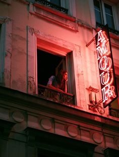 Night photography - Great lighting for a romantic glow Hotel Amour - Paris 9ème