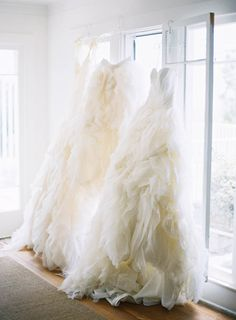drool-worthy tulle gowns // photo by Jen Huang // styling by Borrowed Blu // view more: http://ruffledblog.com/borrowed-blu-bridal-accessories