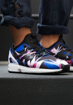 adidas zx flux womens colourful