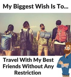 but i don't want to travel with best friends cuz i have my friends.but i have a blessin' called bestie Best Friend Quotes Funny, Besties Quotes, Cute Funny Quotes, Funny Memes, Bestfriends, Crazy Girl Quotes, Girly Quotes, Shyari Quotes, Style Quotes