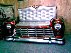 56 Chevy truck couch