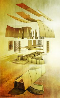 EXPLODED Perspective - BLOG - architectural rendering and illustration blog
