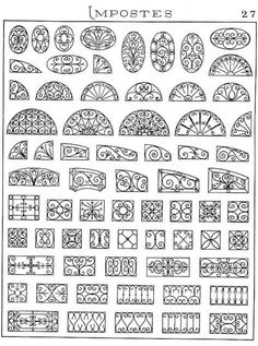 Discover thousands of images about Forge salers - Ferronnerie d'art, artisan forgeron, fer forgéGrill design for Windows. Window Grill Design, Iron Doors, Iron Windows, Iron Gates, Iron Art, Gate Design, Blacksmithing, Wrought Iron, Metal Art