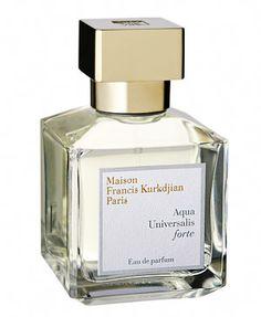 Aqua Universalis Forte Eau de Parfum by Maison Francis Kurkdjian  Had a very good write up...at bergdorf