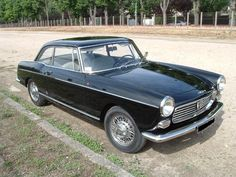"""Peugeot 404 Coupé (1963) There's no need to go further; the Pug 404 Coupé was designed by Pininfarina which much love. Up until then, the 404 gained a solid reputation for being the regular """"taxi car"""", which Peugeot managed to break in serious style..."""