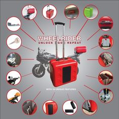 Wheelrider – World's 1st Motorcycle TopCase - CarryOn by Stefano Mangini — Kickstarter