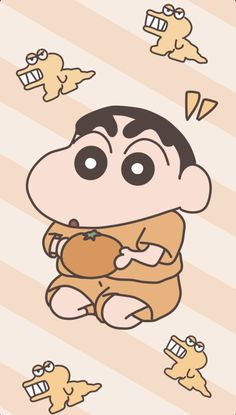 Sinchan Wallpaper, Aesthetic Desktop Wallpaper, Cute Cat Wallpaper, Cartoon Wallpaper Iphone, Sinchan Cartoon, Cute Cartoon Images, Crayon Shin Chan, Cute Wallpapers, Anime
