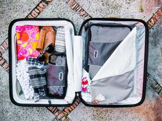 I am very type-A when it comes to packing. I must have things SO organized and always want to have lots of room to shop, so I never over pack. I have gotten pretty good at packing and wanted to share my travel packing hacks with you! 17 Travel Packing Hacks 1. When
