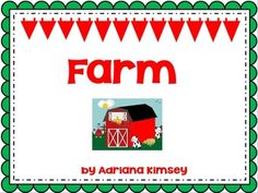 Fun farm unit. Perfect for Sub Plans! Students will practice...- 5 senses- Paterns- Writing- Compare/Contrast- Graphing- Vocabulary+ board game & free drawing farm unit.Students can also use this flipchart at the computer lab, too!For more ActivInspire activities please visit My Store:http://www.teacherspayteachers.com/Store/Adriana-Kimsey