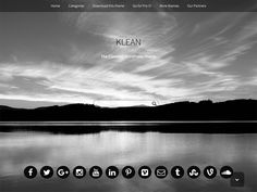The Klean theme has a lot of amazing features to make your site look professional and aesthetic with a ridiculously easy to use Customizer. Klean is a perfect theme for kicking-off your website. Wordpress Template, Wordpress Theme, Themes Free, Layout, Web Design, Social Media, Current Time, Buisness, Header