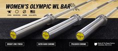 Rogue Women's 25mm Olympic Bearing Weightlifting Bar | Rogue Fitness