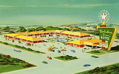 1950's Holiday Inn Hotel