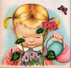Eloise Wilkin -children's book illustrator-LOVE her work!
